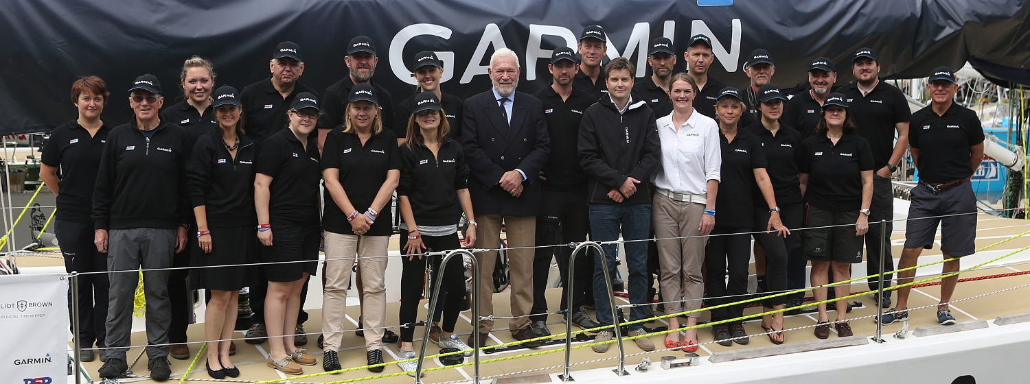 ​Garmin, the global GPS technology company, has named its yacht entry ahead of its start in the Clipper 2015-16 Race.