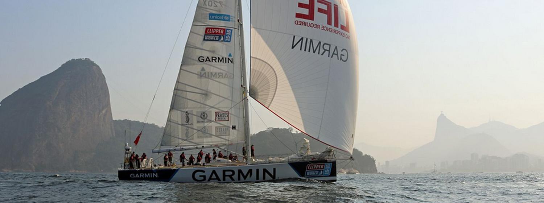 Garmin arrives in Rio de Janeiro, Brazil