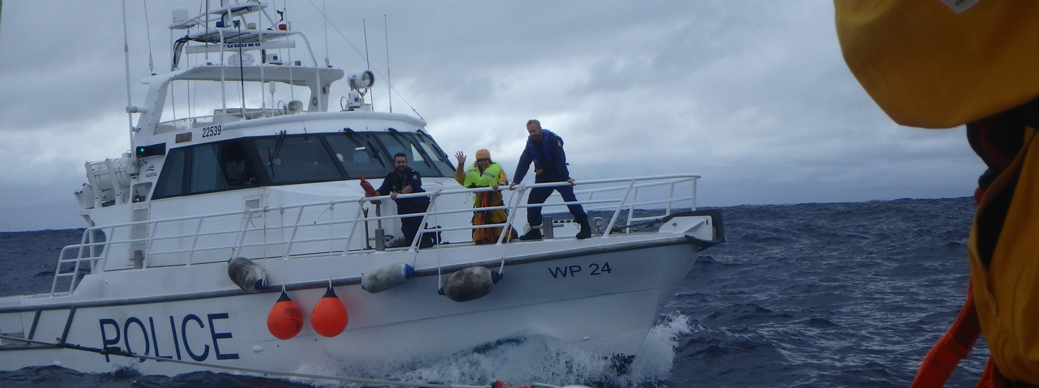Mission Performance diverts to offer aid to yacht