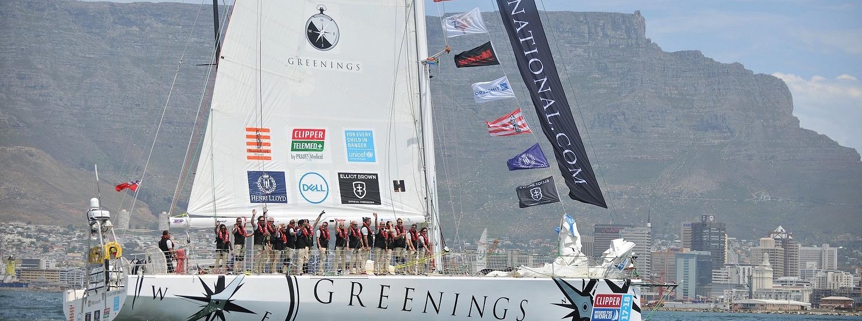 Greenings yacht in Cape Town