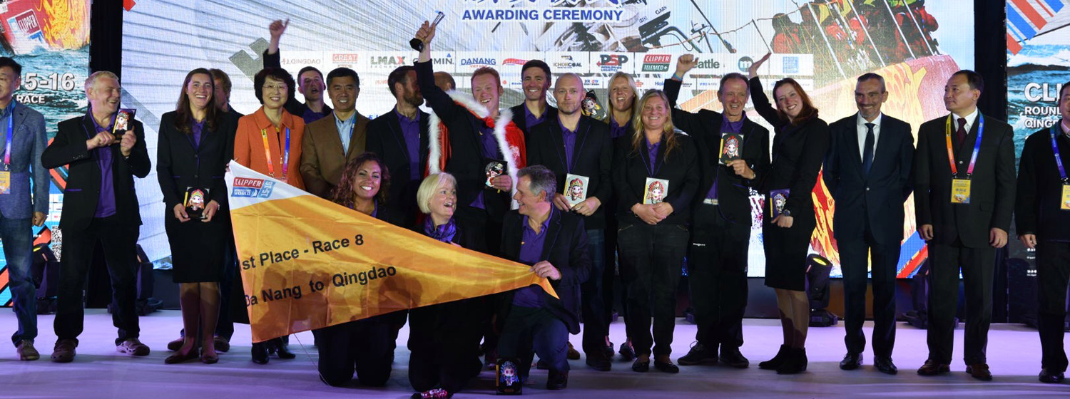 Derry~Londonderry~Doire at The Sailing City • Qingdao Cup Prize-Giving