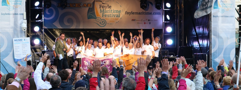 Foyle Maritime Festival in 2015-16