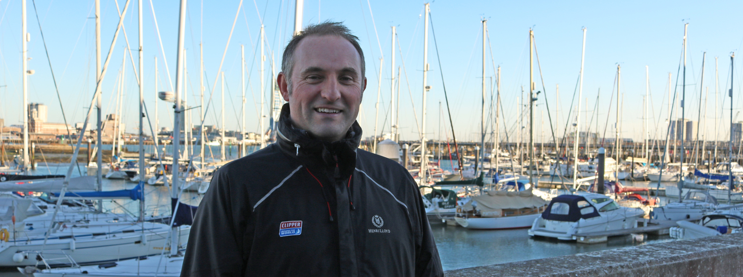 Clipper Race Director, Mark Light
