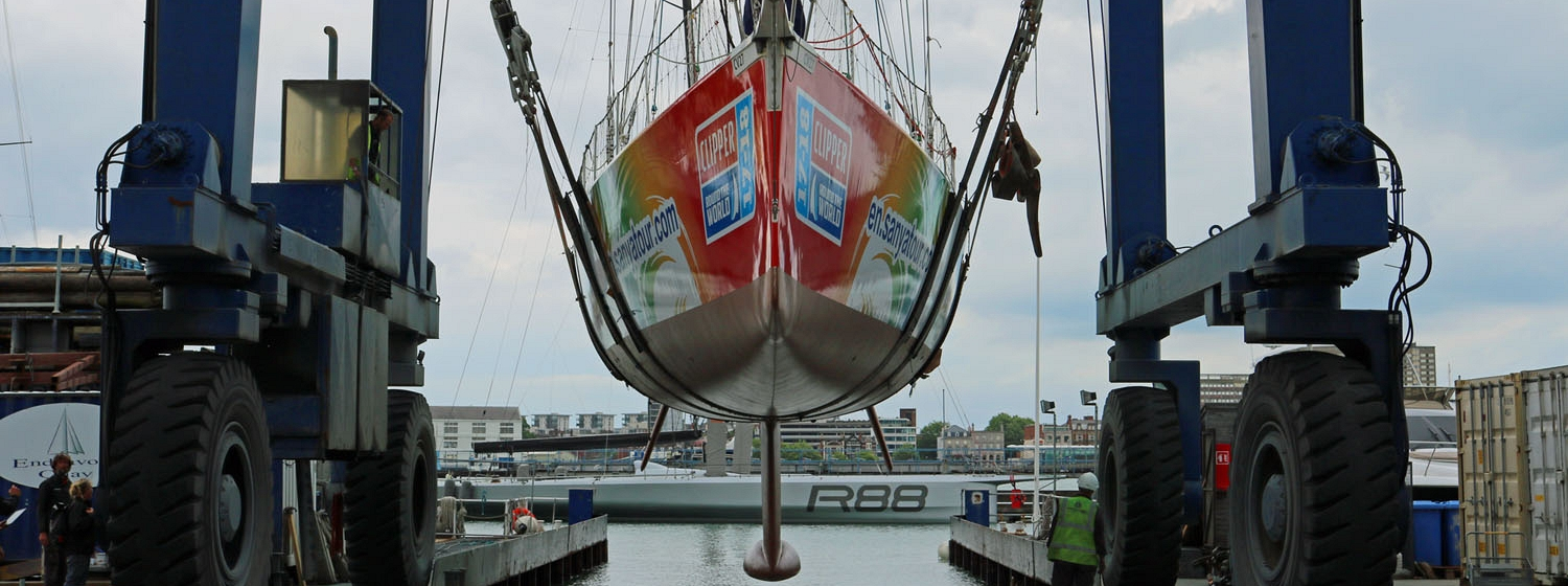 Clipper 70, CV27, re-launced in Gosport