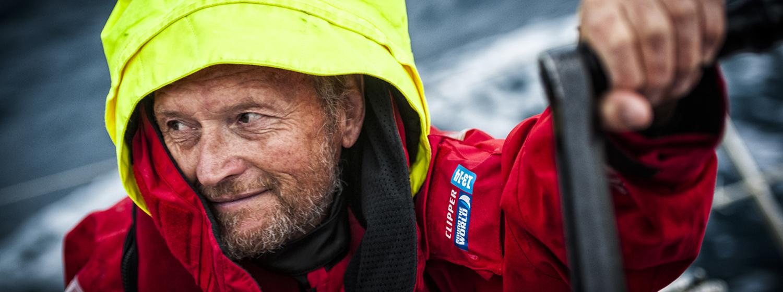 Switzerland crew member, Richard Brook