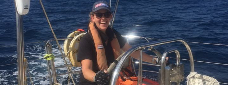 2017-18 Crew member Laura Kearley