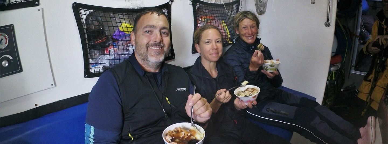 Thanksgiving on board Seattle