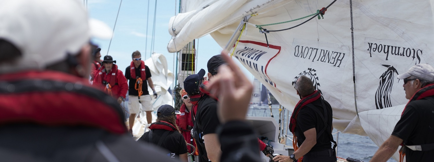 Clipper Race Training Image