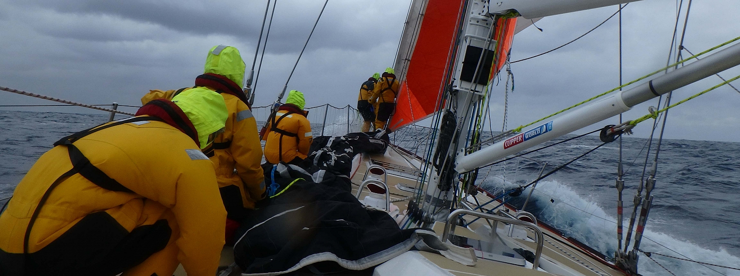 ​Race 9 Day 15: High boat speeds with strong wind on the beam
