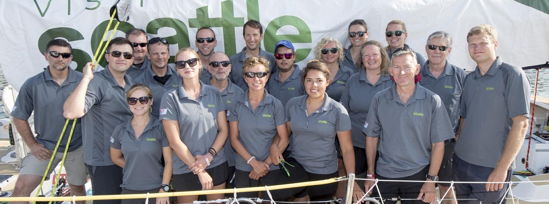 The Visit Seattle team