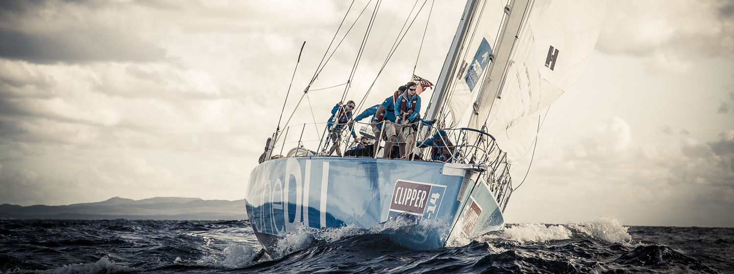 Clipper 70 OneDLL during the 2013-14 Race