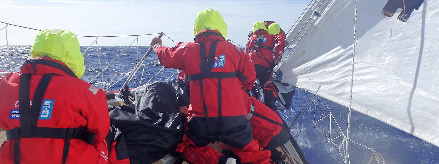 International crew recruitment tour for Clipper Race