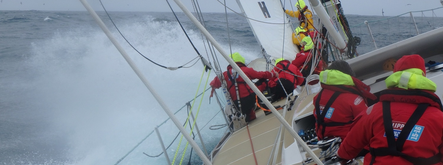 Unicef sail through the Southern Ocean