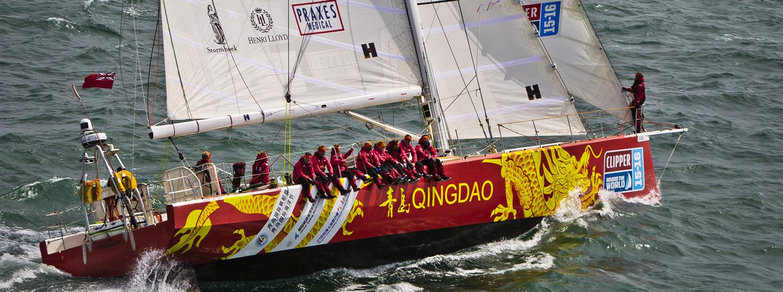 Qingdao in Clipper 2015-16 Race training