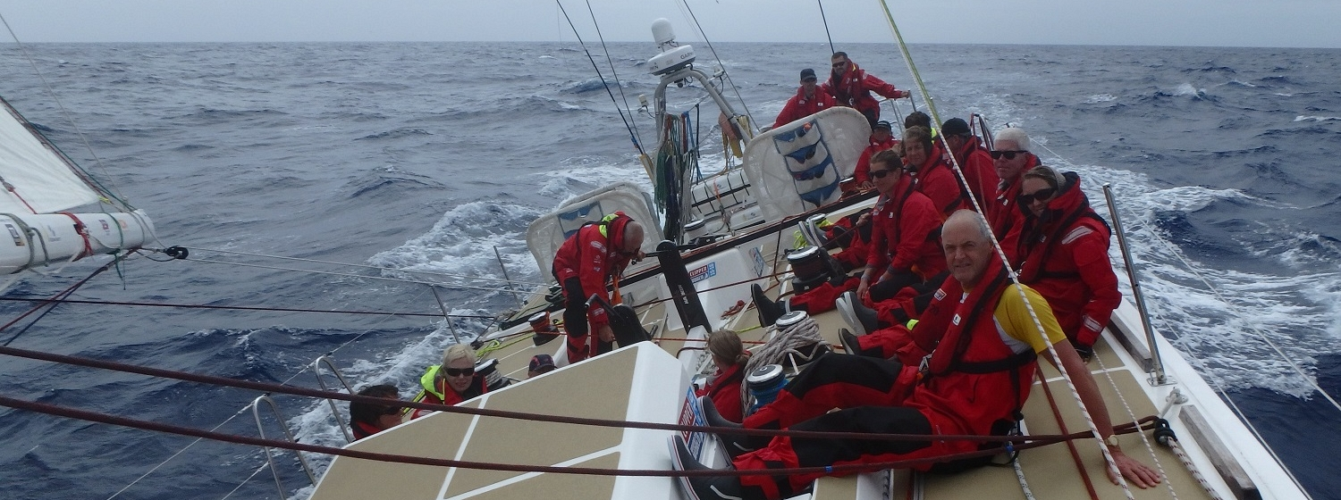​Race 2 Day 12 High pressure system off Africa the next challenge