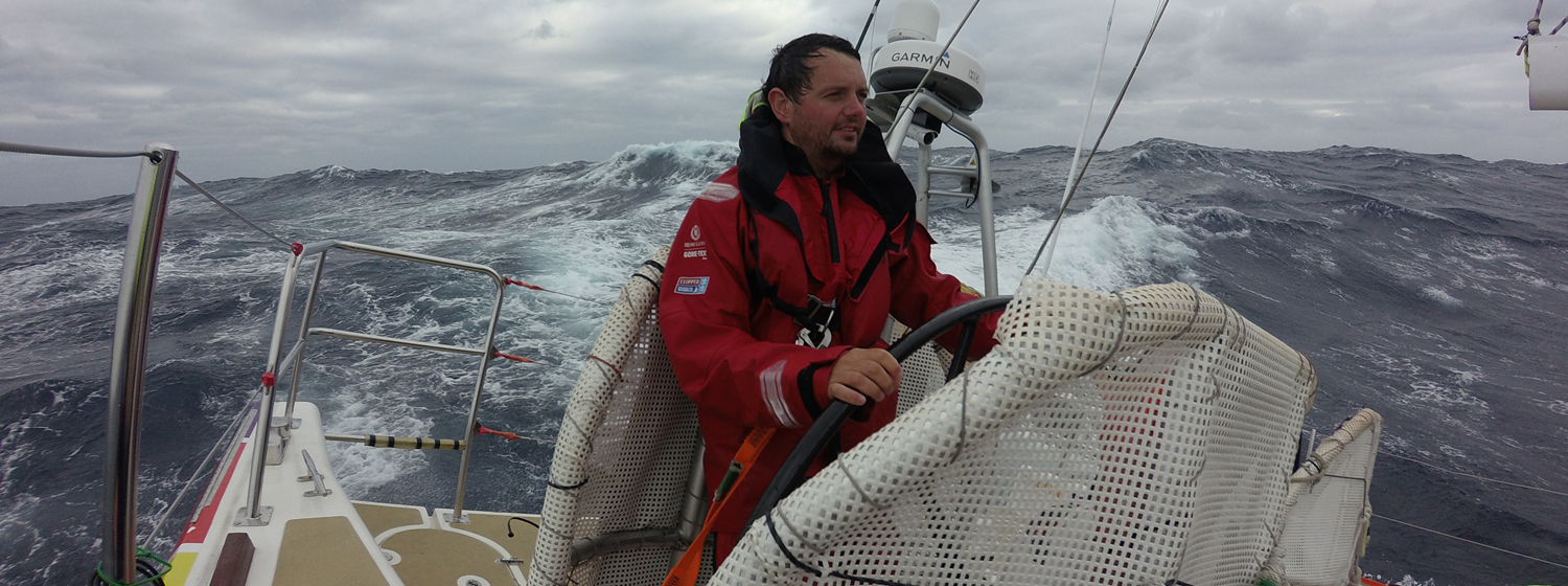 Dafydd Jones on board Derry~Londonderry~Doire