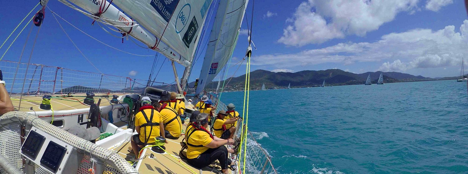Qingdao during Race 7: The Forever Tropical Paradise Race start