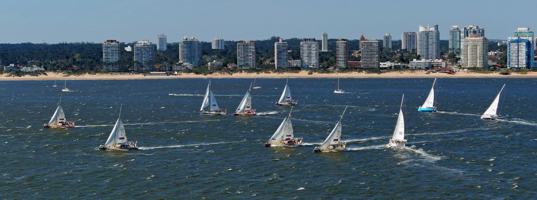 Race Start in Punta del Este
