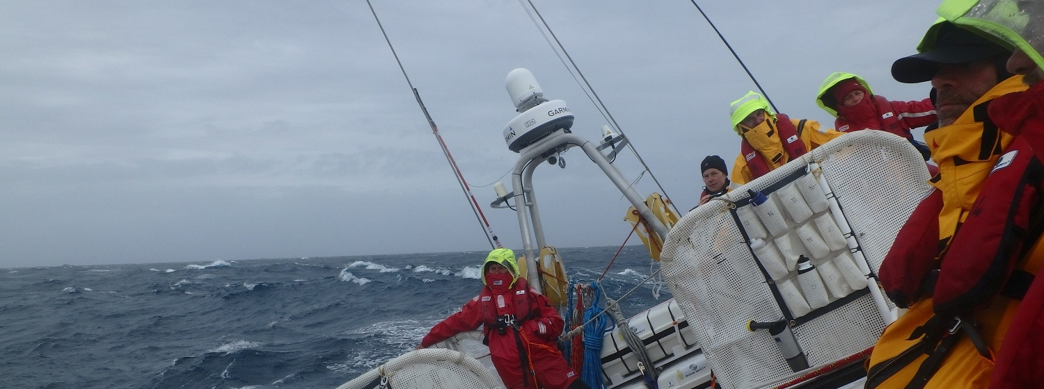 PSP Logistics tackle Southern Ocean storms