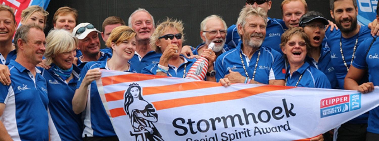 Sanya Serenity Coast winning the Race 4 Stormhoek Social Spirit Award