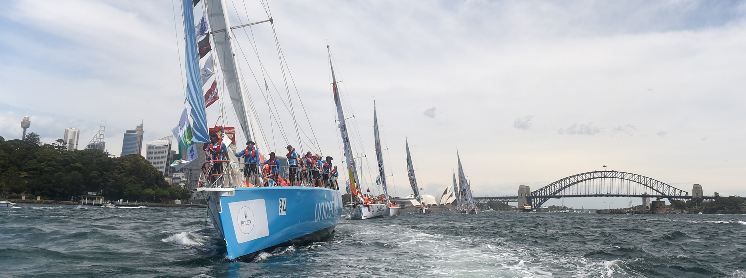 Clipper Race in Sydney