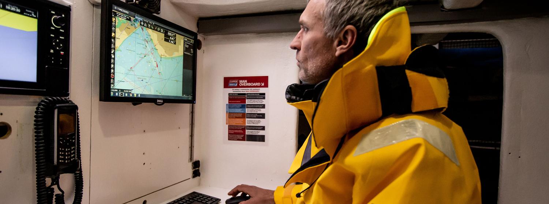 Clipper Race Skipper using TIMEZERO software
