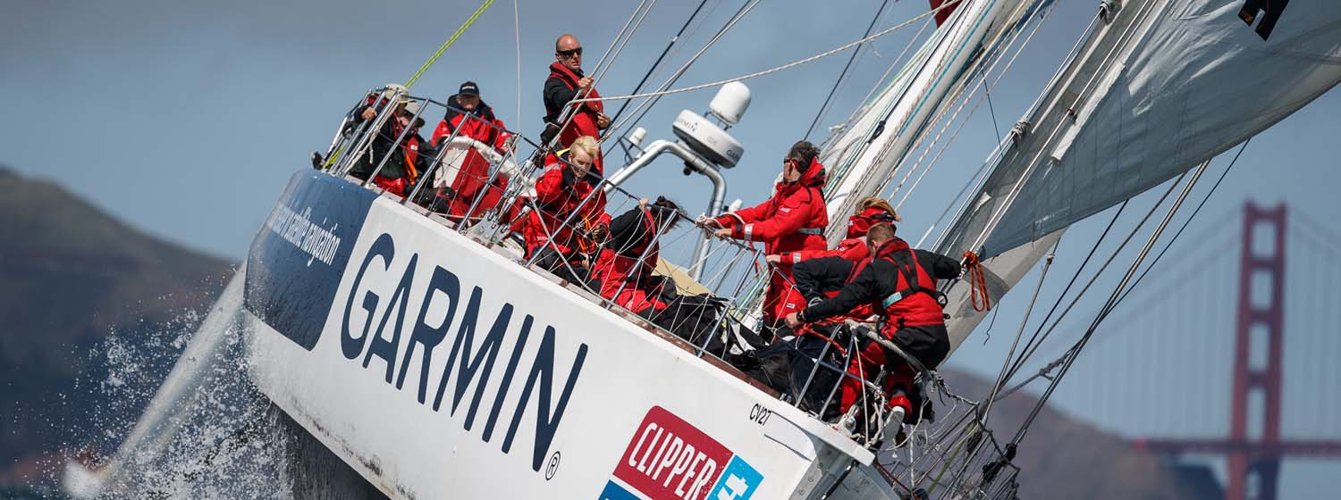 Garmin to Sponsor Clipper Race team for second time