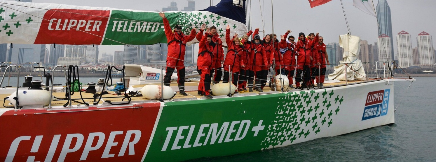 ClipperTelemed in Qingdao