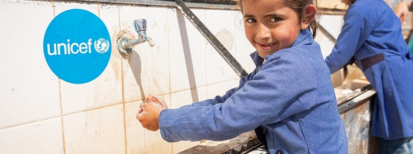 Unicef needs to provide urgent handwashing and hygiene supplies to stop the spread of the infection