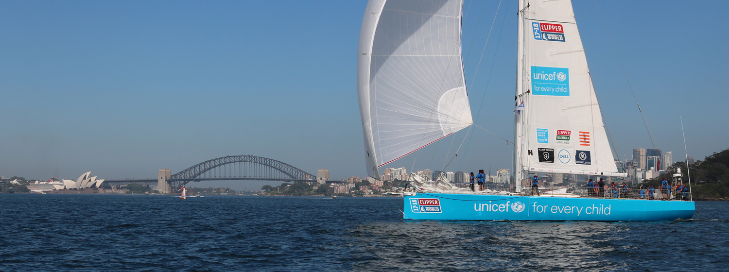 Unicef in Sydney Harbour