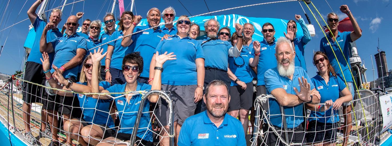 Unicef team