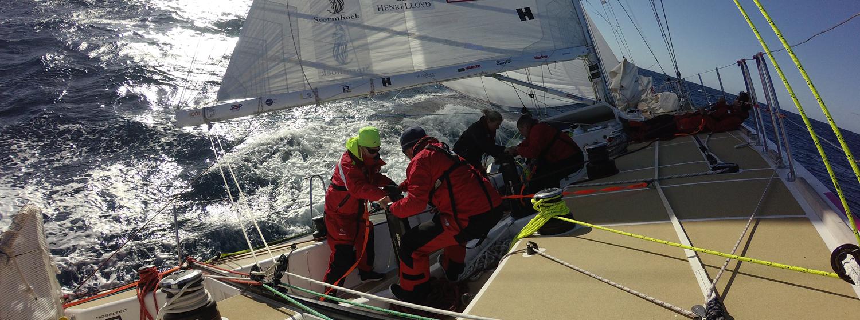 On board the Clipper 2015-16 Race
