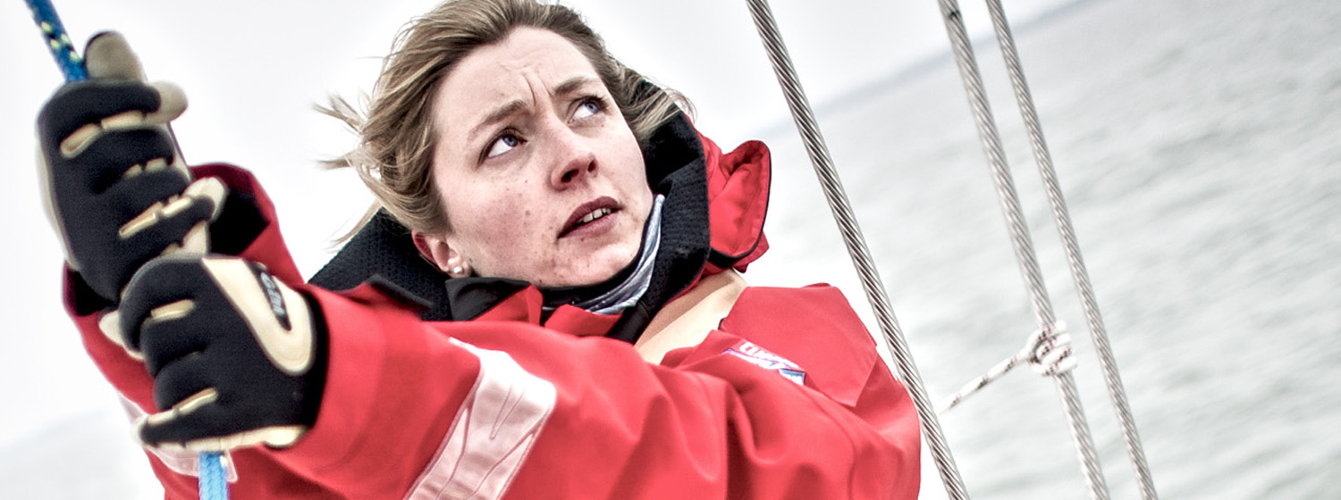 Clipper 2013-14 Race skipper Vicky Ellis