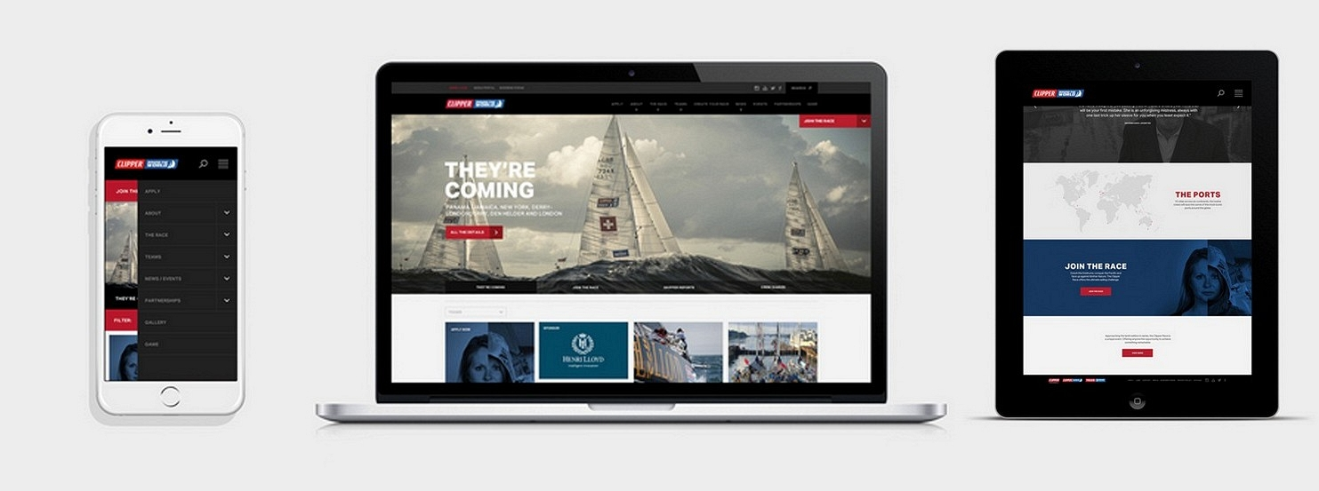 Clipper Race website