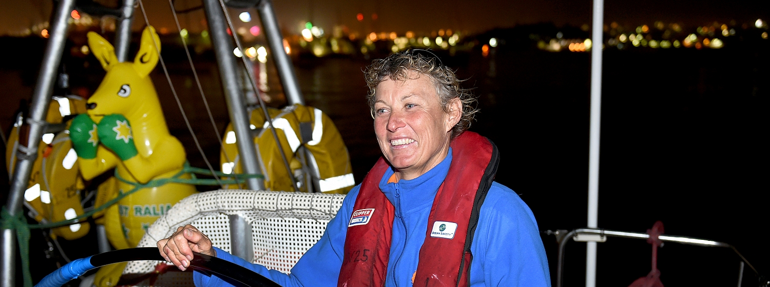 Da Nang Viet Nam Skipper Wendy Tuck leads another night of Sydney arrivals