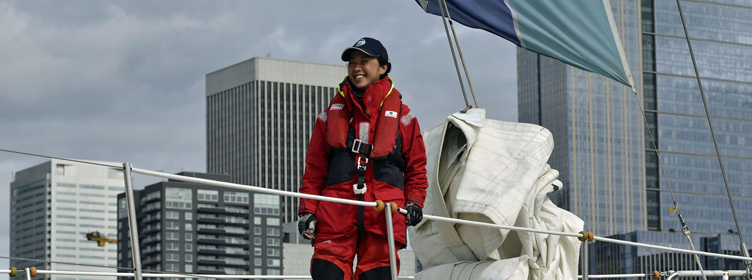 Seattle crew member sails home