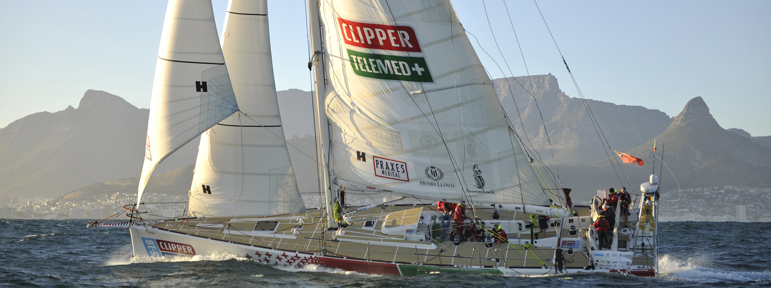 ClipperTelemed+ arrives into Cape Town