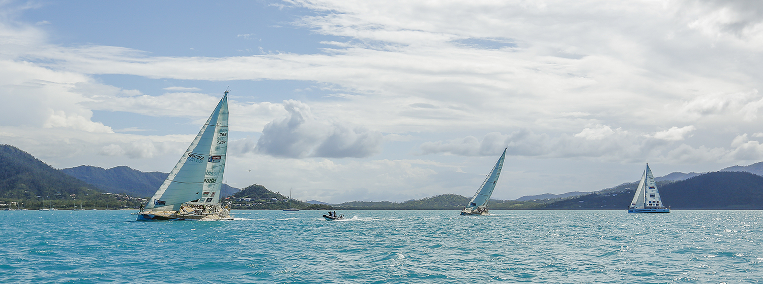 Clipper Race in the Whitsundays