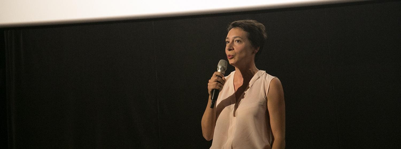 Maéva Bardy showcased the film Course de Leur Vie at the Waterproof Festival