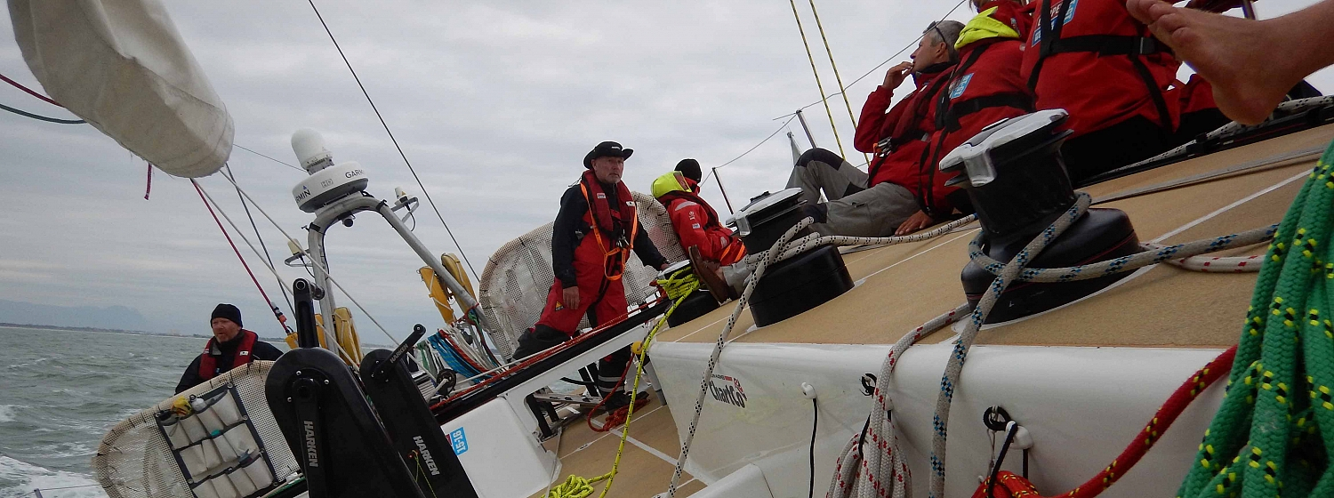 ​Race 8 Day 6 Teams begin Ocean Sprint as wind and sea state decreases