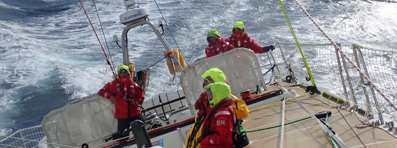 Big seas from on board Garmin