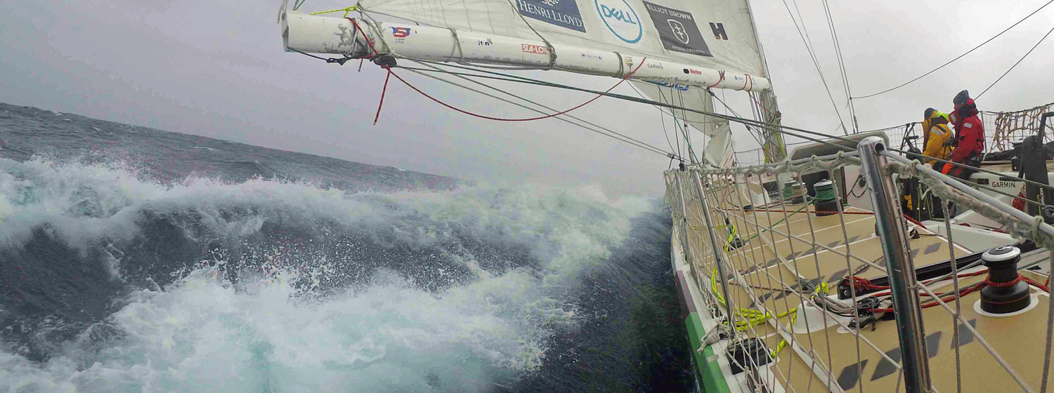 Visit Seattle on Day 19 of Race 8 across the North Pacific