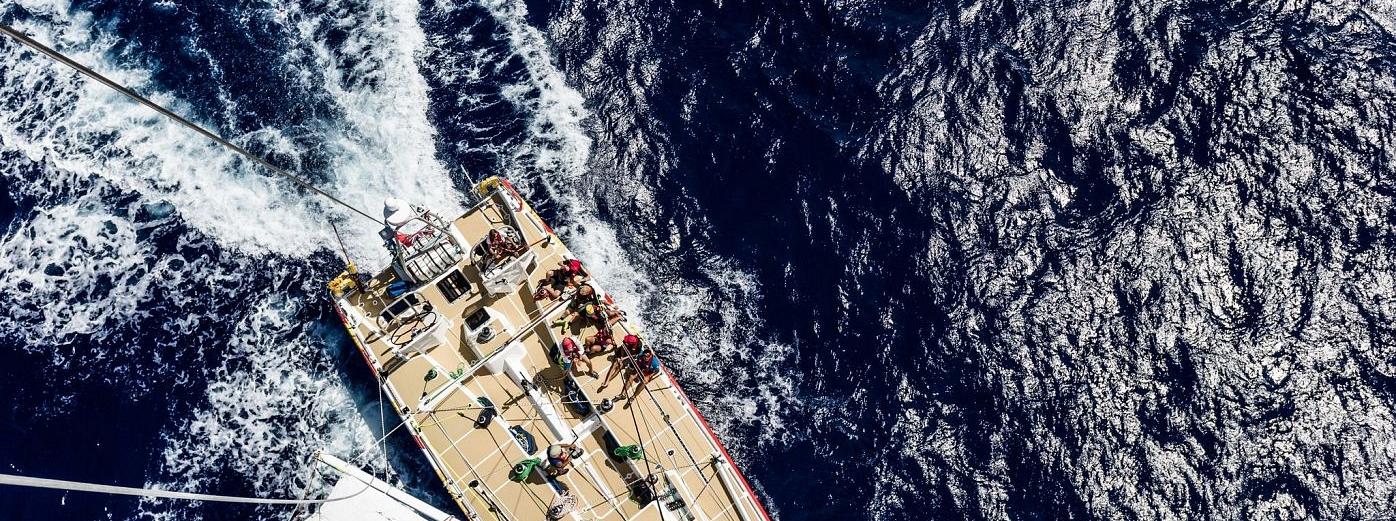 Tour an ocean racing yacht, Portimão