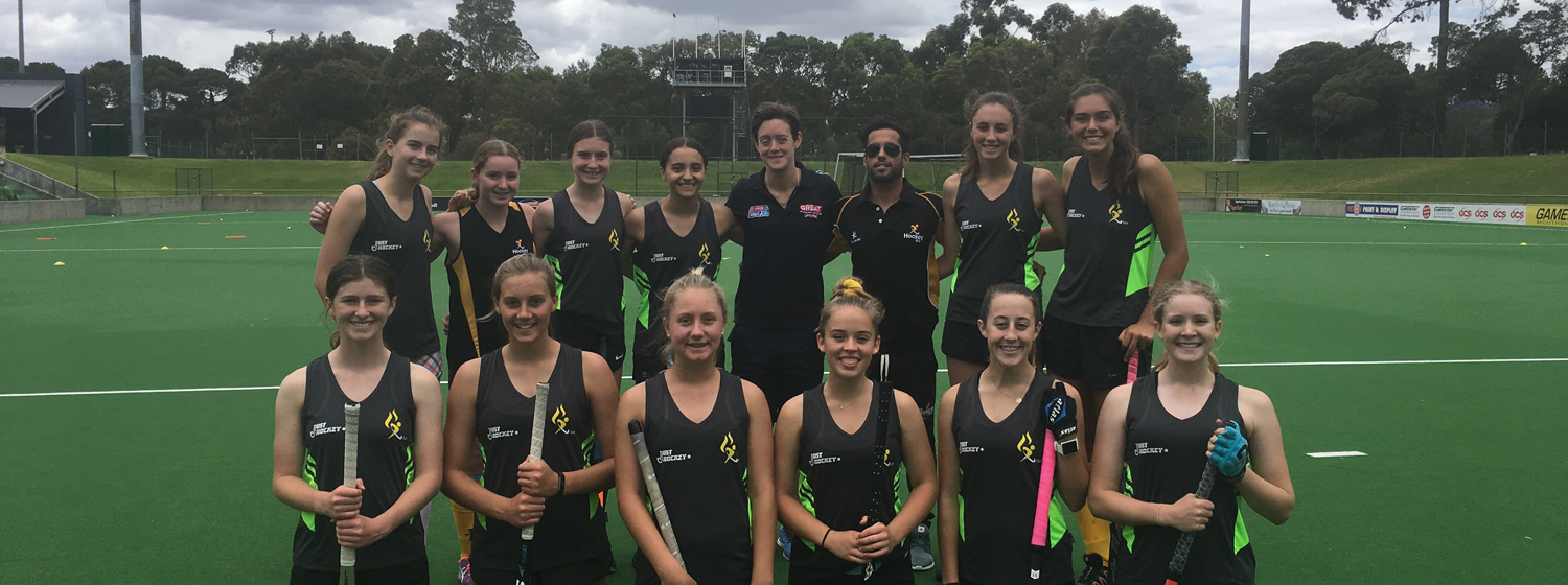 GREAT Britain crew member Hannah Macleod at Hockey WA