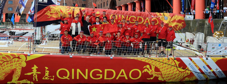 Qingdao Team in Liverpool