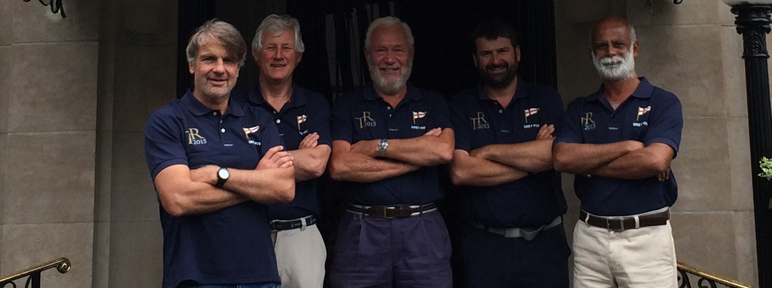 Sir Robin Knox-Johnston sets off in The Transatlantic Race
