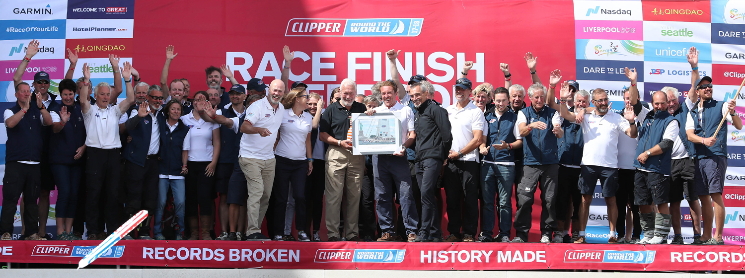 PSP Logistics at Race Finish in Liverpool