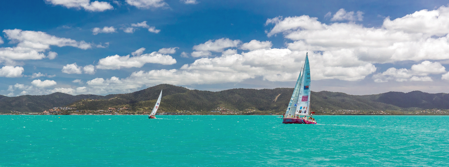 Clipper Race teams in Whitsundays