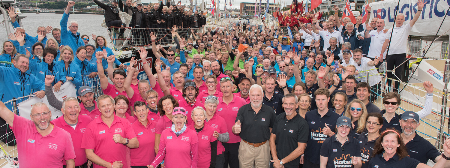 Clipper 2017-18 Crew in Derry-Londonderry