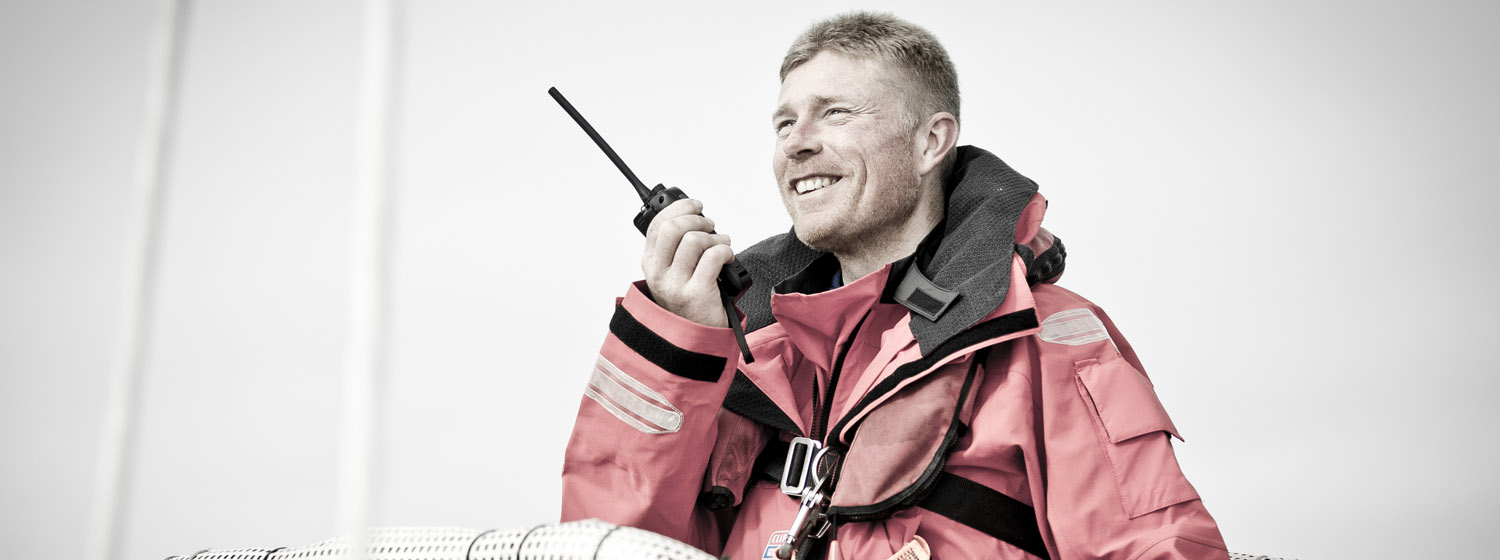 Clipper 2017-18 Race Skipper Rob Graham